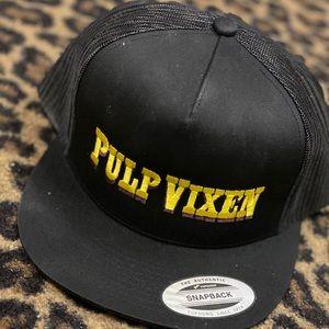 Pulp Vixen Snap Back Logo Cap